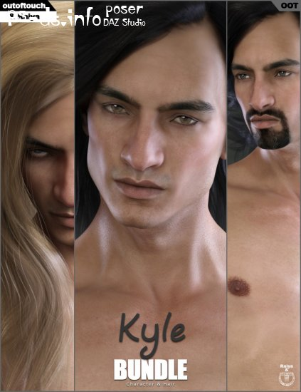 Kyle Character and Hair Bundle + Kyle Hair XPansion