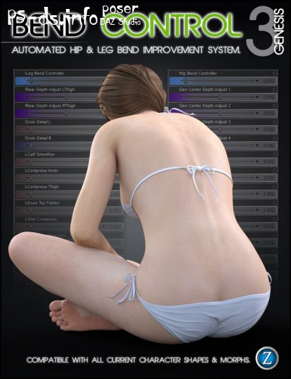 Bend Control for Genesis 3 Female(s)