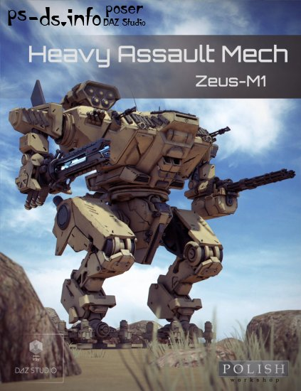 Heavy Assault Mech Zeus-M1