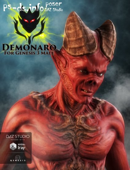 Demonaro for Genesis 3 Male