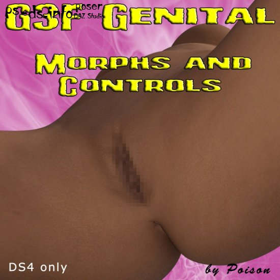 G3F Genital Morphs and Controls