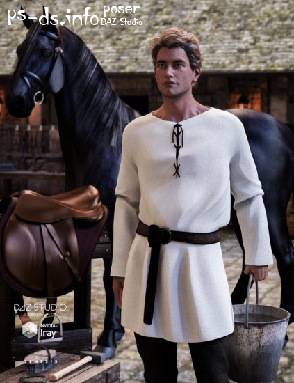 Peasant Outfit for Genesis 3 Male(s)
