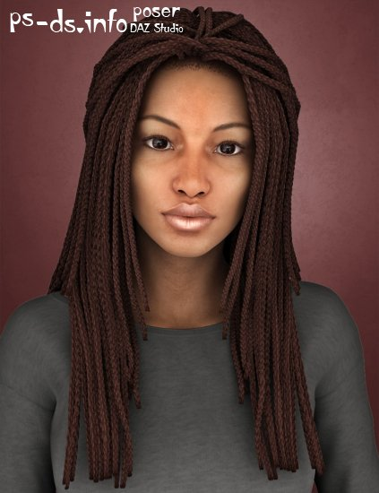 Medea Hair for Genesis 2 Female(s) and Victoria 4