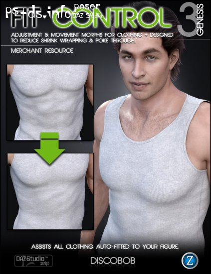 Fit Control for Genesis 3 Male(s)