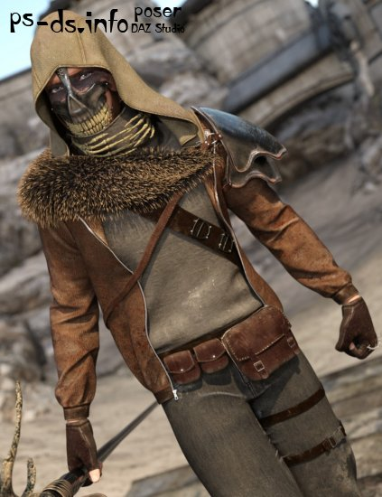 Savage Hunter for Genesis 2 Male(s)