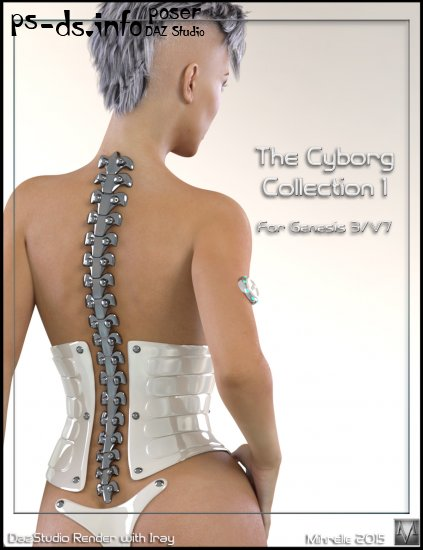 The Cyborg Collection for G3F and V7 1,2