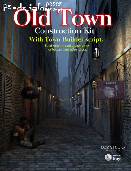 Old Town Construction Kit