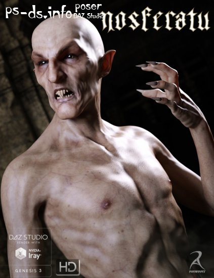 Nosferatu for Genesis 3 Male