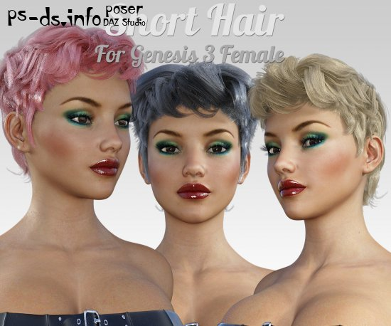 Short Hair for G3 female(s)
