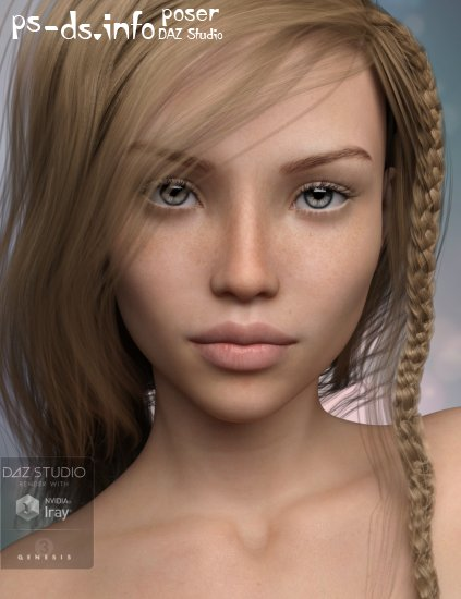 P3D Lara for Genesis 3 Female