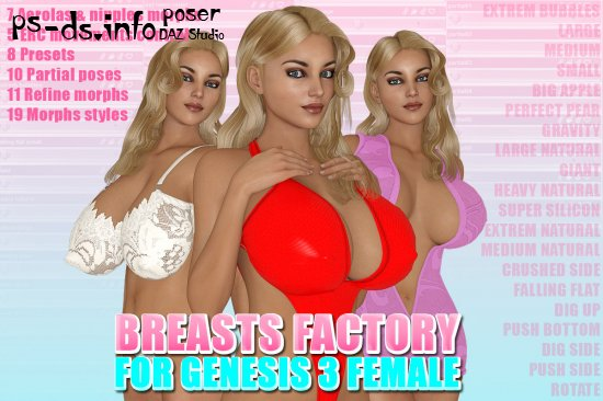 Are Breast expansion morphs