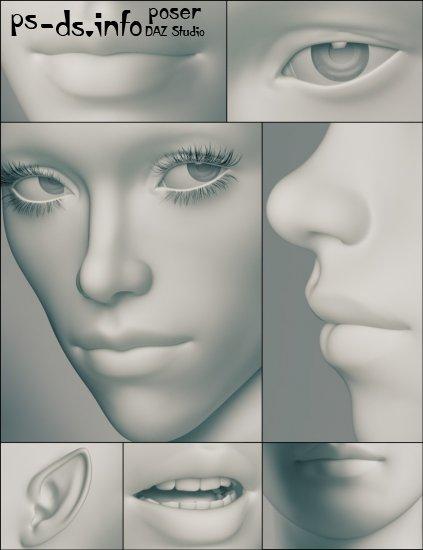 Genesis 3 Female Morphs » Poser - DAZ Studio