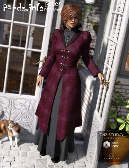Victoria Iven for Genesis 3 Female(s)