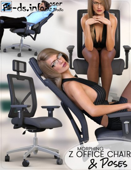 Z Morphing Office Chair & Poses