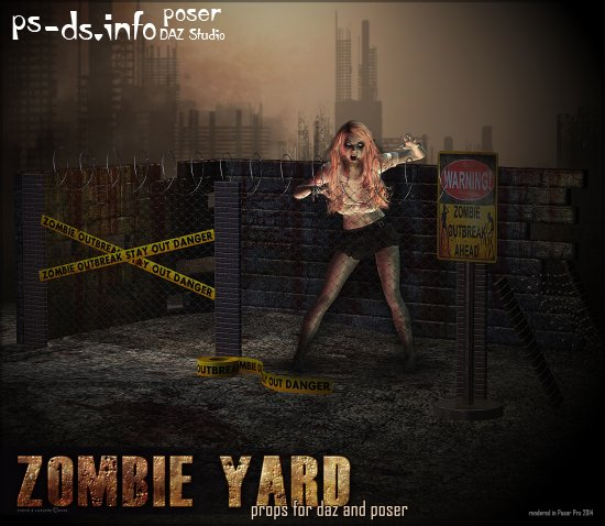 Zombie Yard Props