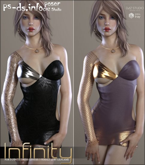 Infinity for Infinite Dress Genesis 3 Females