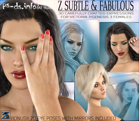 Z Subtle & Fabulous - Expressions for V7/G3F