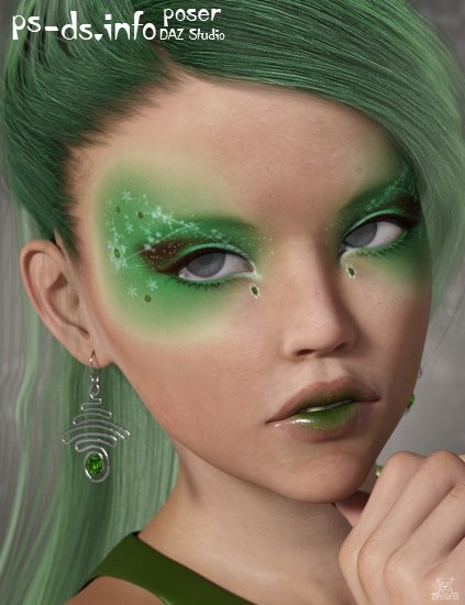 LC Frosty Flirtations LIE Makeup for Genesis 3 Female