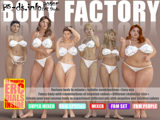Body Factory for G3F