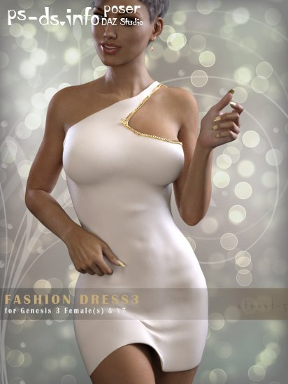 FashionDress 3 for Genesis 3 Females