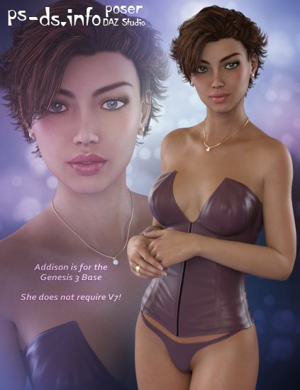 Addison for Genesis 3 Female