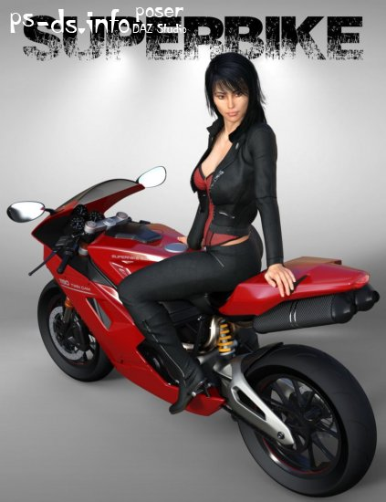 Superbike and Poses for Genesis 3 Female