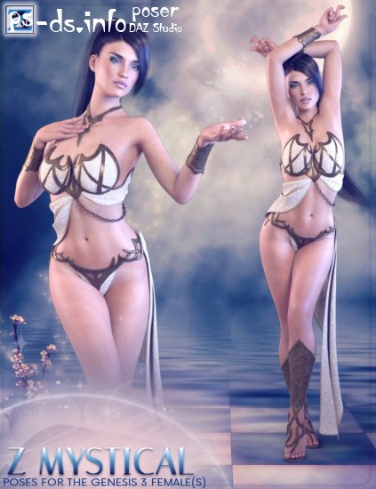 Z Mystical - Poses for the Genesis 3 Female(s)