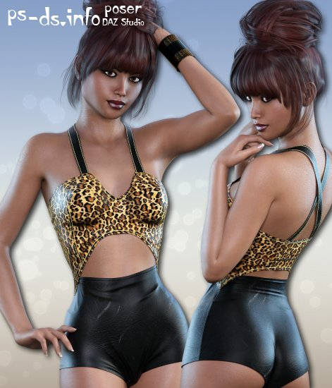 Snuggle for Teddy for Genesis 3 Female(s)