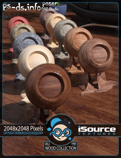 Wood Collection Merchant Resource - Vol2 (PBR Textures)