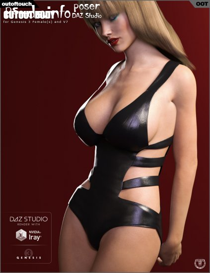 Cutout Body for Genesis 3 Female(s)