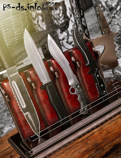 Tactical Knife Set