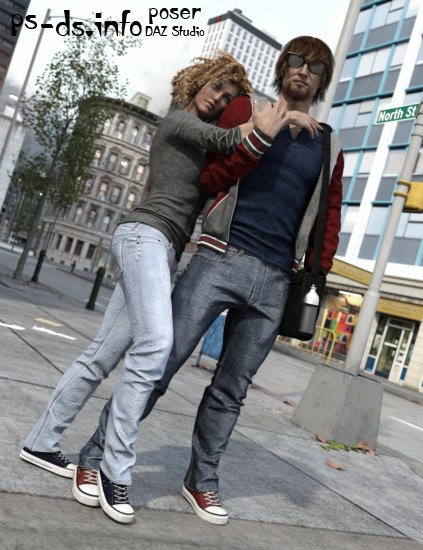 Urban Survivors for Genesis 3 Male(s) and Female(s)