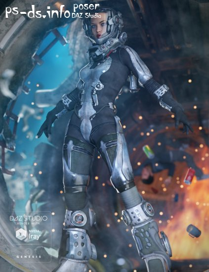 EXO Suit for Genesis 3 Female(s)