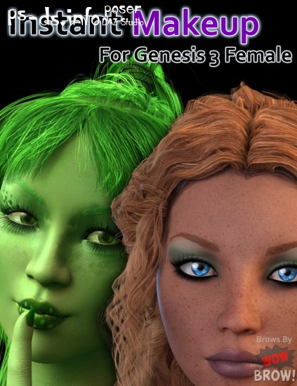 Instant Makeup for Genesis 3 Female