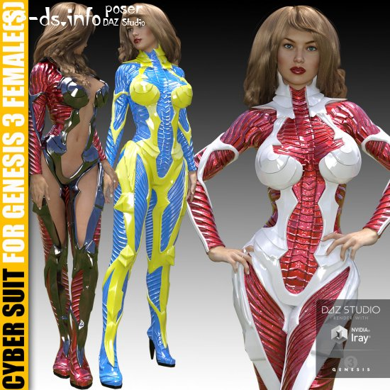 Cyber Suit for G3 female(s)