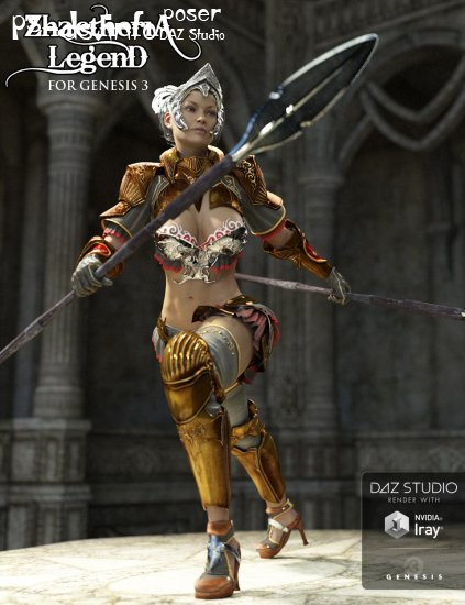 Zhaetheria Legend for Genesis 3 Female(s)