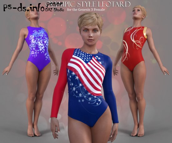 Olympic Style Leotard for G3F