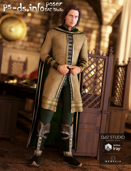 Elven Prince Outfit for Genesis 3 Male(s)