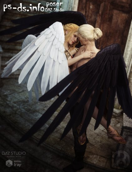 Seraphim Wings for Genesis 3