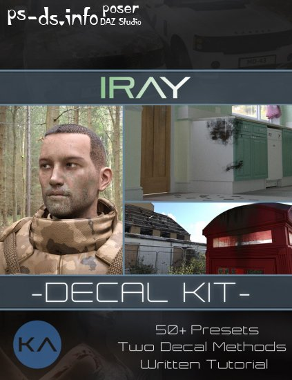 Iray Decal Kit