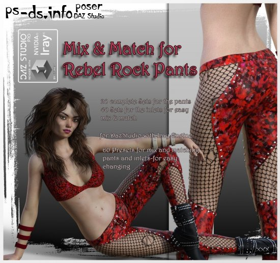Mix & Match Rebel-Rock-Pants
