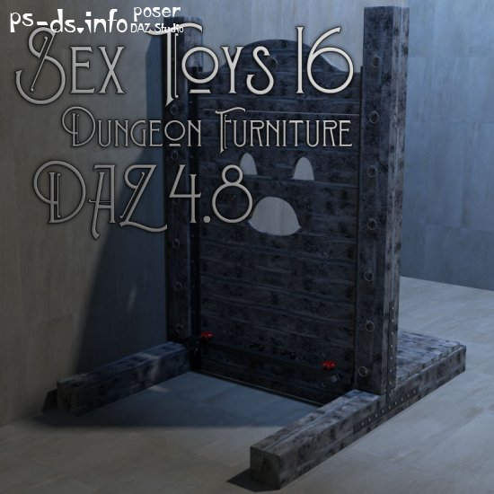 Sex Toys 16 - Dungeon Furniture