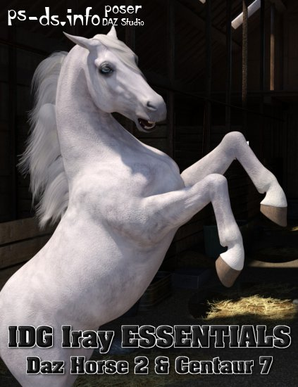 IDG Iray Essentials - Daz Horse 2 and Centaur 7