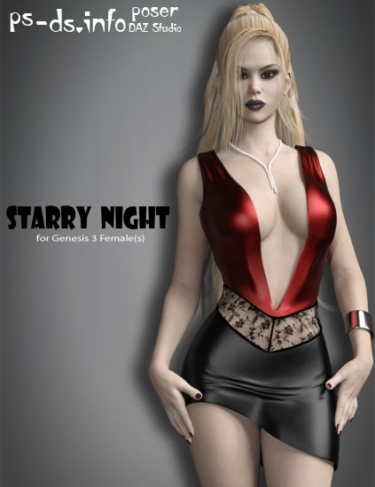 Starry Night for Genesis 3 Female(s)
