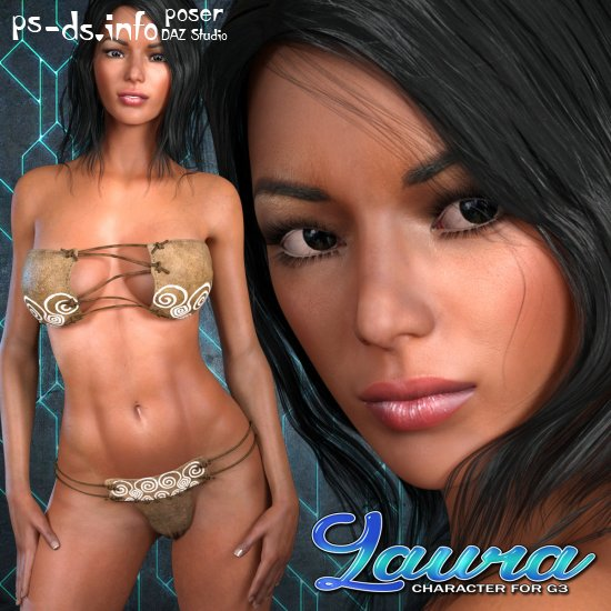 Exnem Laura Character for G3 Female