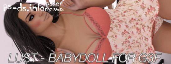 LUST - Babydoll For Genesis 3 Female(s)