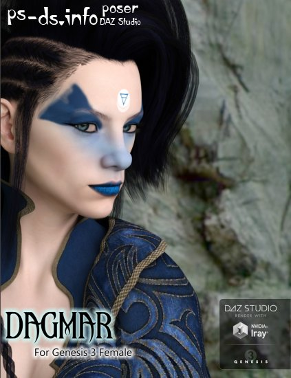 Dagmar for Genesis 3 Female