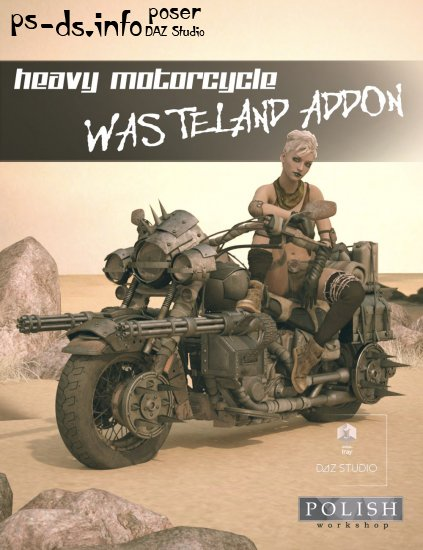 Heavy Motorcycle Wasteland Addon