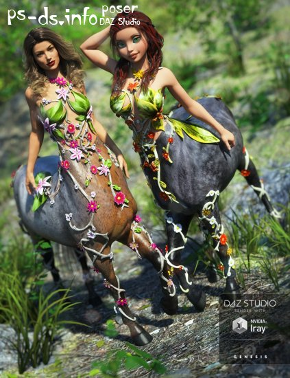 Forest Maiden Outfit Textures