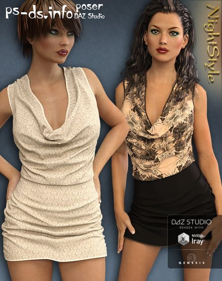 Night Style Outfit for Genesis 3 Female(s)